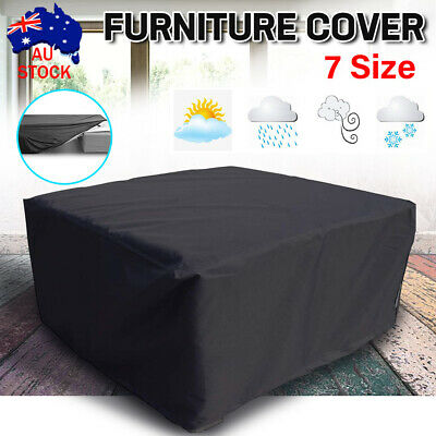 AU17.52 • Buy 7 Size Waterproof Garden Furniture Cover Outdoor Patio Chair Table AU