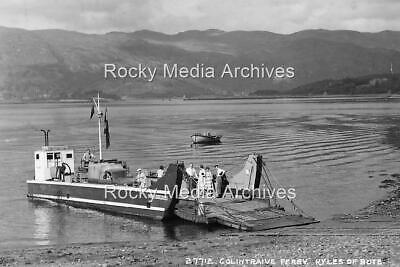 Pfd-89 Colintrave Ferry, Kyles Of Bute, Scotland. Photo • 3.25£