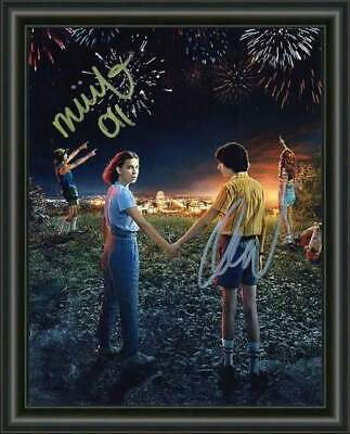 AU9.95 • Buy STRANGER THINGS - Millie Bobby  Brown Finn A4 SIGNED PHOTO POSTER - FREE POSTAGE