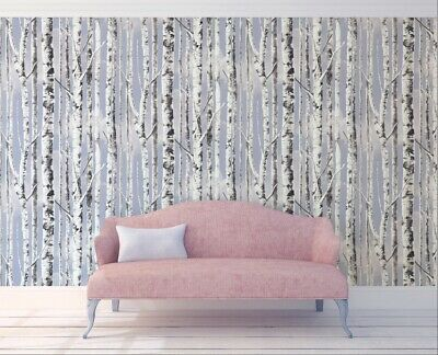Sky Wallpaper Cloud Removable Tree Peel And Stick Design Samples Available Vinyl • 51.85£