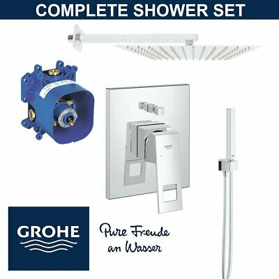 Grohe Shower Set  EUROCUBE - RAPIDO E - EUPHORIA  Brand New • 350£