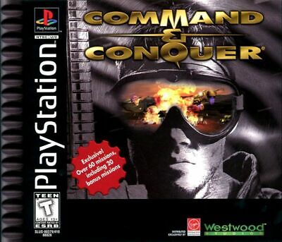 AU44.95 • Buy Command & Conquer PAL Playstation 1 PS1