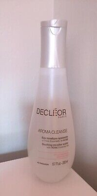 DECLEOR AROMA CLEANSE Soothing Micellar Water With Rose Essential Oil   200ml • 12.95£