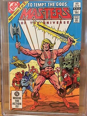 $149 • Buy Masters Of The Universe 1 Cgc 9.4 White (he-man) 1st Dc Comic Series 1982🔥