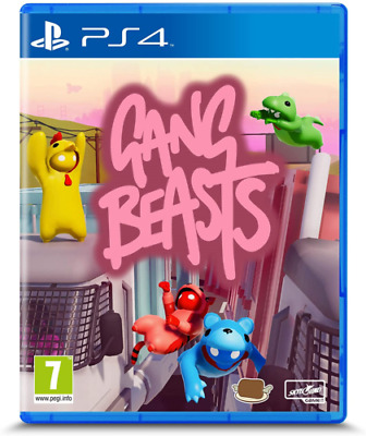 AU30.41 • Buy Gang Beasts PS4 Family Kids Game OFFICIAL UK STOCK NEW Gift Idea