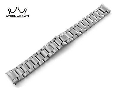 18mm 20mm For OMEGA Watch Stainless Steel Bracelet Strap Band Silver Seamaster • 32.90£