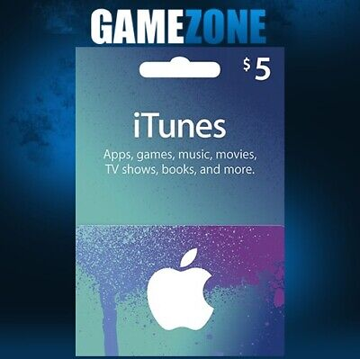 AU9.47 • Buy ITunes Gift Card $5 USD USA Apple ITunes Code 5 Dollars United States Digital