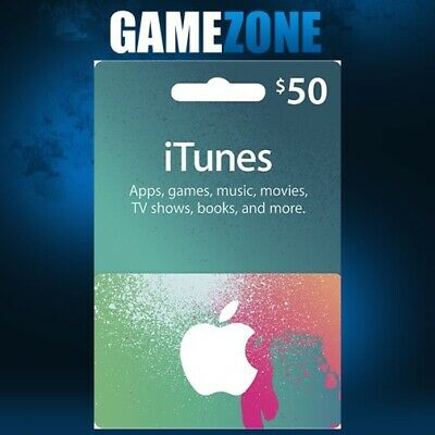 AU84.74 • Buy ITunes Gift Card $50 USD USA Apple ITunes Code 50 Dollars United States Digital