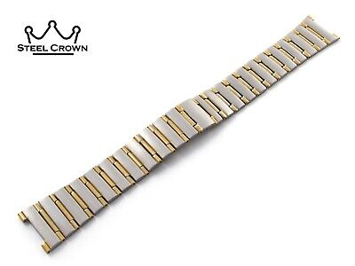 17mm 22 For Omega Watch Stainless Steel Bracelet Strap Band Silver Constellation • 34.90£