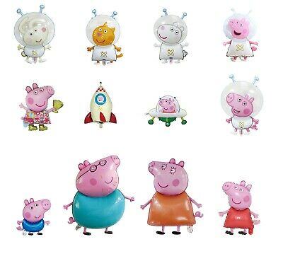 Kids Peppa George Pig Birthday Party Foil Air Helium Fill Balloons • 3.99£