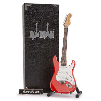 $ CDN47.69 • Buy (Thin Lizzy) Gary Moore Miniature Guitar Replica With Display Case And Stand