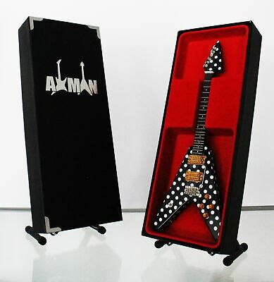 $ CDN47.69 • Buy (Quiet Riot) Randy Rhoads: Miniature Guitar Replica Display Case & Stand Include