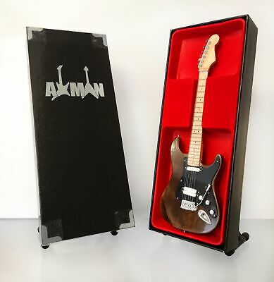 $ CDN47.69 • Buy (The Band) Robbie Robertson:  Miniature Guitar Replica With Display Case & Stand