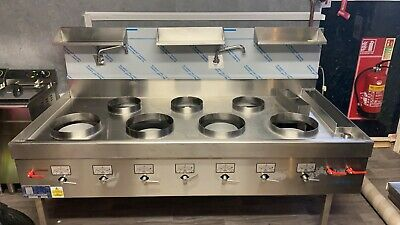 £5000 • Buy Far East 4 Front, 3 Rear Chinese Wok Cooker (Nat Gas/LPG)