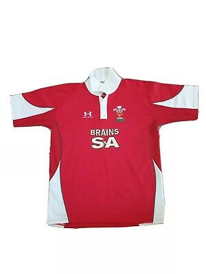 £24.99 • Buy  Wales Rugby Union Shirt ,Under Armour Short Sleeves Large. Good Condition.