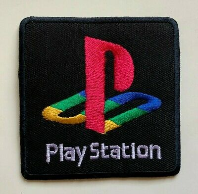 £1.99 • Buy PlayStation Logo / GAME - Embroidered Iron On Sew On PATCH