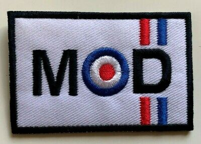 £1.99 • Buy MOD TARGET MODS VESPA SCOOTER LAMBRETTA - Embroidered Iron On Sew On PATCH