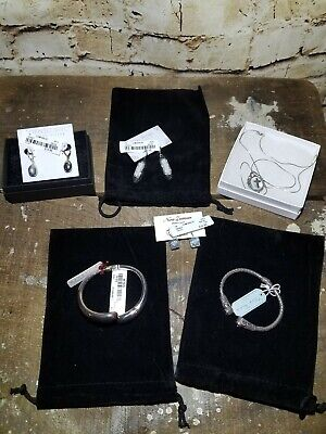 $ CDN177.96 • Buy Sterling Silver Jewelry Lot: Mostly New With Tags & Boxes: See Pics