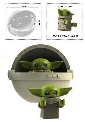 $4.50 • Buy Baby Yoda & Carriage B Minifigure Figure Usa Seller New In Package