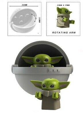 $4.50 • Buy Baby Yoda & Carriage A Minifigure Figure Usa Seller New In Package