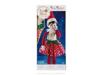 AU28.01 • Buy Elf On The Shelf Claus Couture Collection Glitz & Gold Dress Outfit ONLY Girl