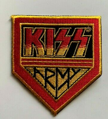 £1.99 • Buy KISS ARMY ROCK PUNK METAL MUSIC - Embroidered Iron On Sew On PATCH