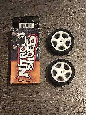 Nitro Shoes By Jaco - 1/10 Scale Touring Car Foam Tyres. 26mm Front /42 Shore • 9.99£
