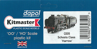 4mm Scale 00 Gauge DAPOL KITMASTER Kit C035 For 'Schools' Class 4-4-0 Loco  • 12.95£