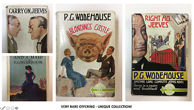 £18731.23 • Buy P.G. Wodehouse Collection - Rare Offering - Deceased Estate