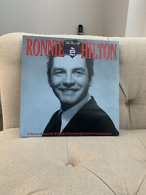 £3 • Buy RONNIE HILTON The Best Of The EMI Years 12  VINYL LP EMS1325) 1989 Free UK Post.