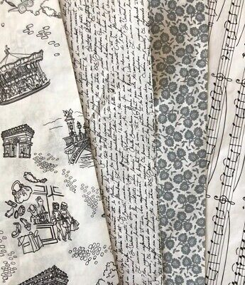 £7 • Buy Decopatch Paper Pack Black White Grey Music Paris French