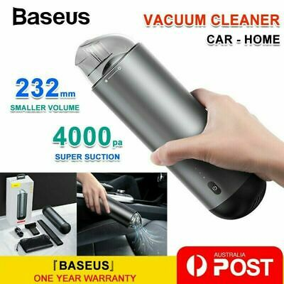 AU59.69 • Buy Baseus Car Vacuum Cleaner Ultra Portable Mini Cordless Handheld Rechargeable