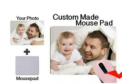 AU9.99 • Buy Custom Printed Mouse Pad Personalized Photo, Logo, Name Design Add Your Own Imag
