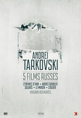 $23.65 • Buy Poster Folded 15 11/16x23 5/8in Andreï Tarkovsky,5 Films Russian - Tarkovsky
