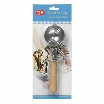 Tala Wooden Handle Ice Cream Mashed Potato Food Scoop With Trigger • 6.89£