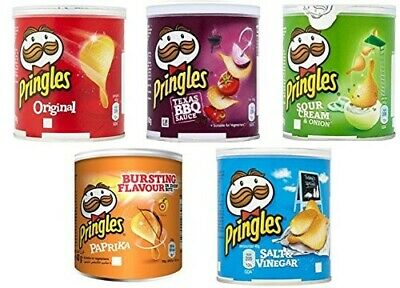 New Pringles Multi Flavour Crisps 12 X 40g. Hot Offers With Free Postage  • 9.85£