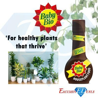 Baby Bio House Plant Feed Food For Greener Leaves & Vibrant Colours 175ml • 4.99£