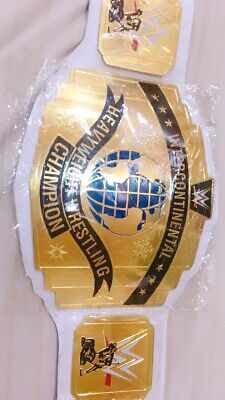 AU265 • Buy WWE Intercontinental Heavyweight Wrestling Championship White Belt Replica Adult
