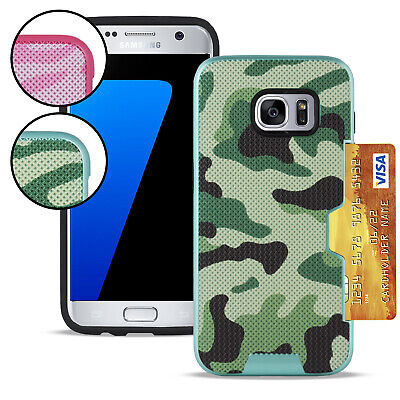 $ CDN11.06 • Buy Hard Cover In For Samsung Galaxy S7, Samsung Galaxy S7 Edge Camouflage Silicone