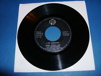 £17.75 • Buy Jimmy James & The Vegabonds  I Am Somebody  Pye Excellent  Philippines  45 Rpm