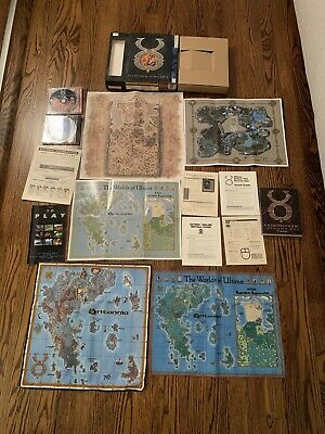 AU322.90 • Buy Ultima Online Origin In Big Box With Cloth Maps, PC CDs THIRD DAWN COMPLETE RARE