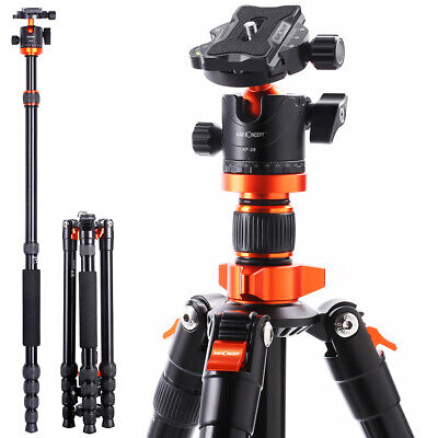 AU134.99 • Buy K&F Concept 79  Camera Tripod Aluminum Travel Vlog Tripod Monopod For DSLR Nikon