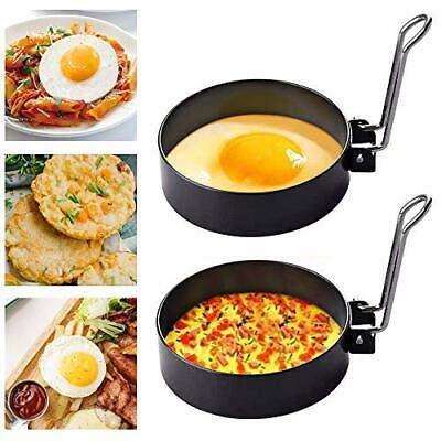 $13.12 • Buy Egg Ring Mold For Cooking, Stainless Steel Egg Cooker Rings For Fried Or