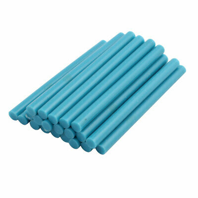 AU12.38 • Buy 21pcs 7mm X 100mm Hot Melt Glue Sticks Light Blue For DIY Small Craft Projects