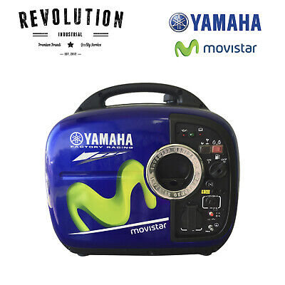 AU2209 • Buy Yamaha Moto Gp Racing Blue Ef2000Ism Silent Inverter Generator 2000W - Limited E