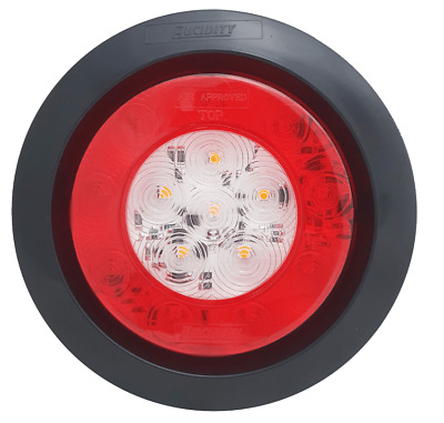 AU49.95 • Buy 1 X  4″ ROUND LED REAR COMBINATION LAMP, Truck,Bus,Ute,Trailer,Kenworth,Hotrod