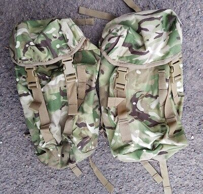 New MTP British Army Side Pouches Karrimor SF  (Rocket Pouch Daysack Bergen ) • 29.99£