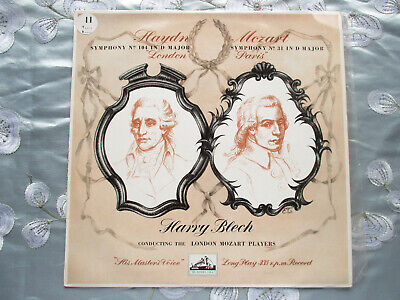 LONDON MOZART PLAYERS CONDUCTED BY HARRY BLECH HAYDN MOZART 1950s HMV VINLY LP • 40£