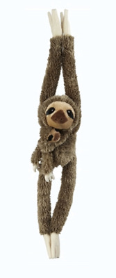 £17.60 • Buy RAVENSDEN PLUSH SLOTH HANGING WITH BABY 90CM LARGE CUDDLY TEDDY CUTE Gift Idea