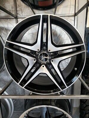 $1000 • Buy 19  Black CL AMG Style Rims Wheels Fits Mercedes Benz S430 S550 S500 Staggered